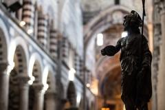 dettagli cattedrale interno