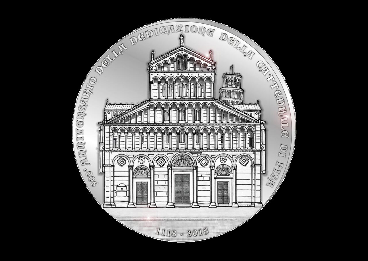 Diritto: centrata la Cattedrale di Pisa