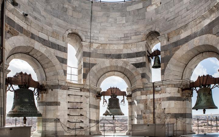Panoramica delle campane