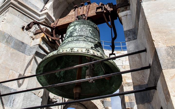 Una campana della Torre