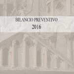 bilancio prevnetivo 2016 copertina